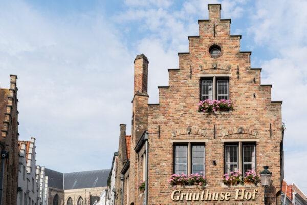 Architecture flamande à Bruges