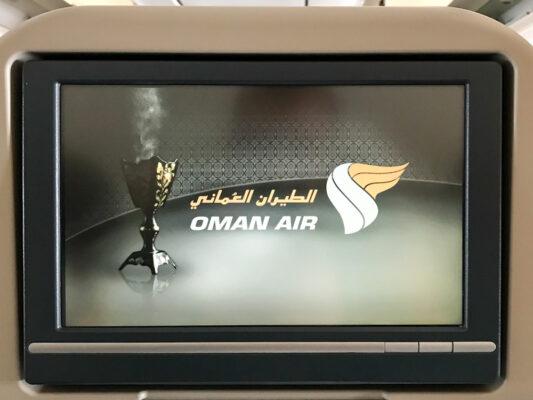 Avis Oman Air : divertissement à bord