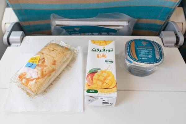 Avis Oman Air sur les repas