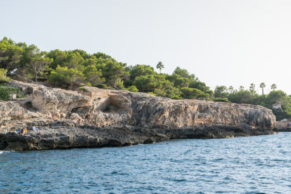 Cala Blava, balade en bateau à Majorque