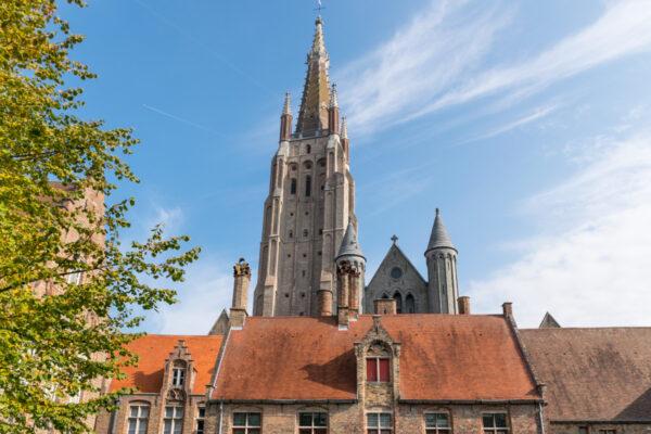 Une des églises à visiter à Bruges
