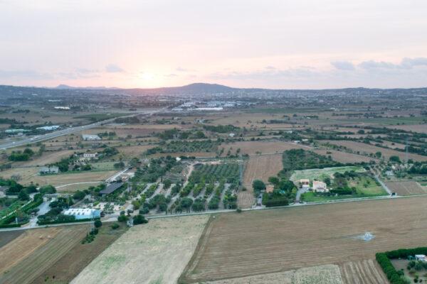 Lever de soleil en montgolfière à Majorque