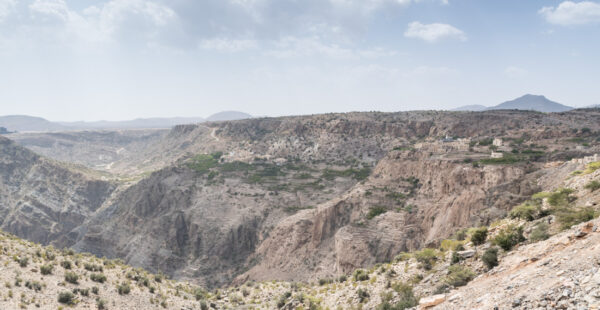 Meilleur point de vue du jebel Akhdar