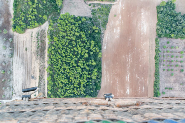 Survol de l'île de Majorque en montgolfière