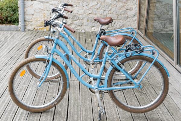 Vélo sur le Grand Site des Deux Caps
