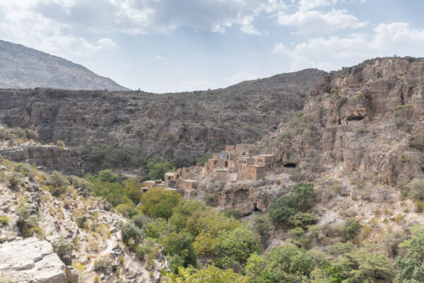 Village abandonné au jabal Akhdar