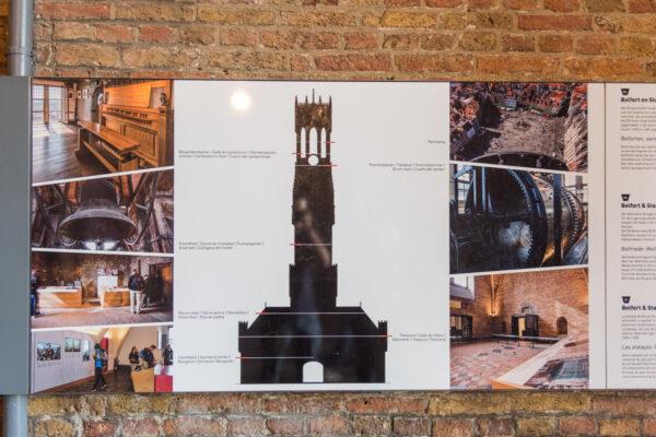 Visite du Beffroi de Bruges