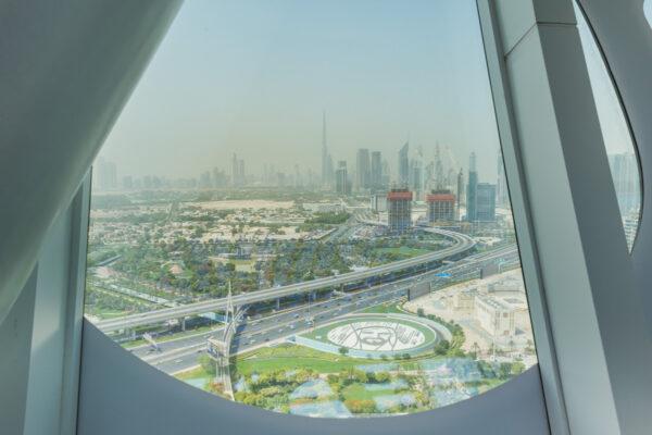 Visite de Dubai Frame