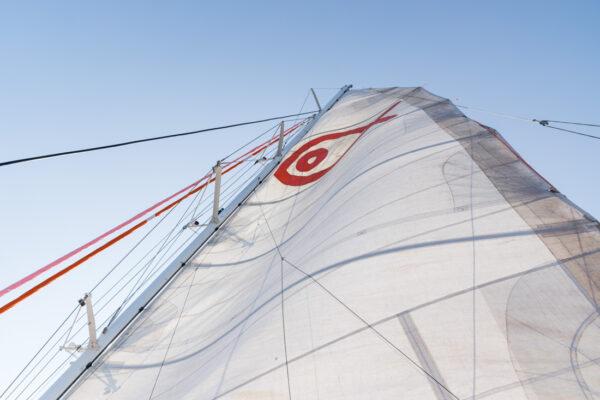 Voile du catamaran à Majorque
