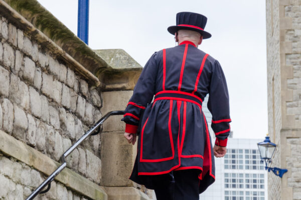 Yeoman Warders à la Tour de Londres