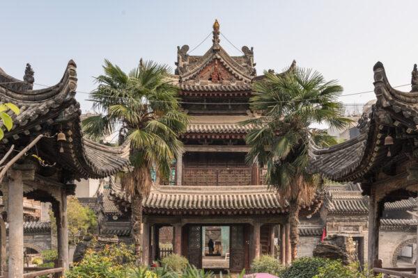 Minaret d'une mosquée ancienne de Xi'an