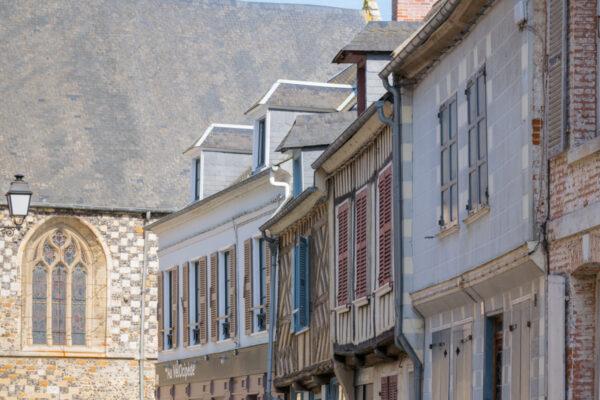 Ruelle médiévale de Saint-Valéry-sur-Somme