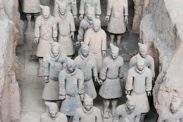 Terracotta Army à Xi'an en Chine