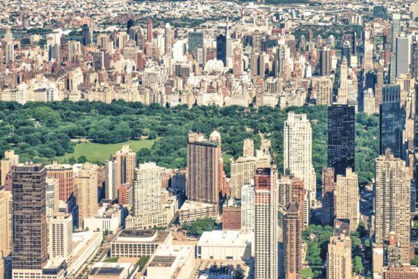 Tour en hélico à New York, au dessus de Manhattan