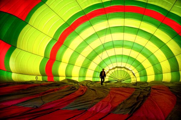 Marrakech en montgolfière