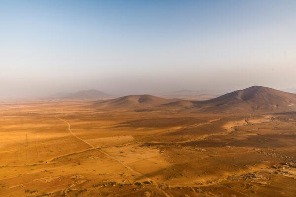 Survol en montgolfière de Marrakech