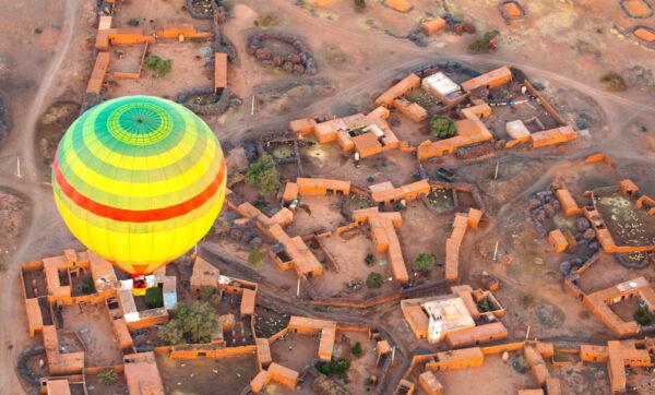 Vol en montgolfière à Marrakech