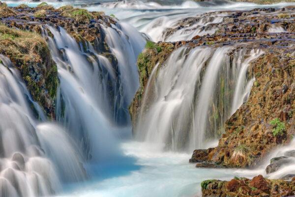 Bruarfoss dans le Cercle d'Or en Islande