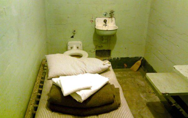 Cellule de la prison d'Alcatraz
