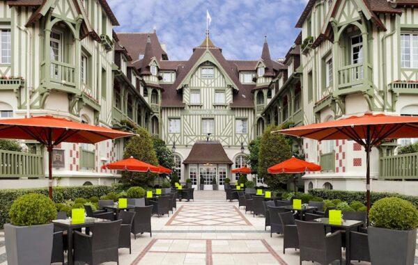 Meilleur hôtel de Deauville
