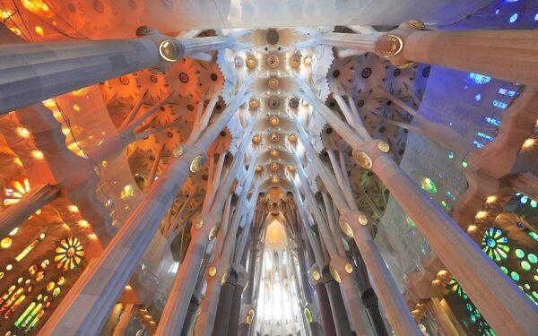 Ticket pour la visite de la Sagrada Familia