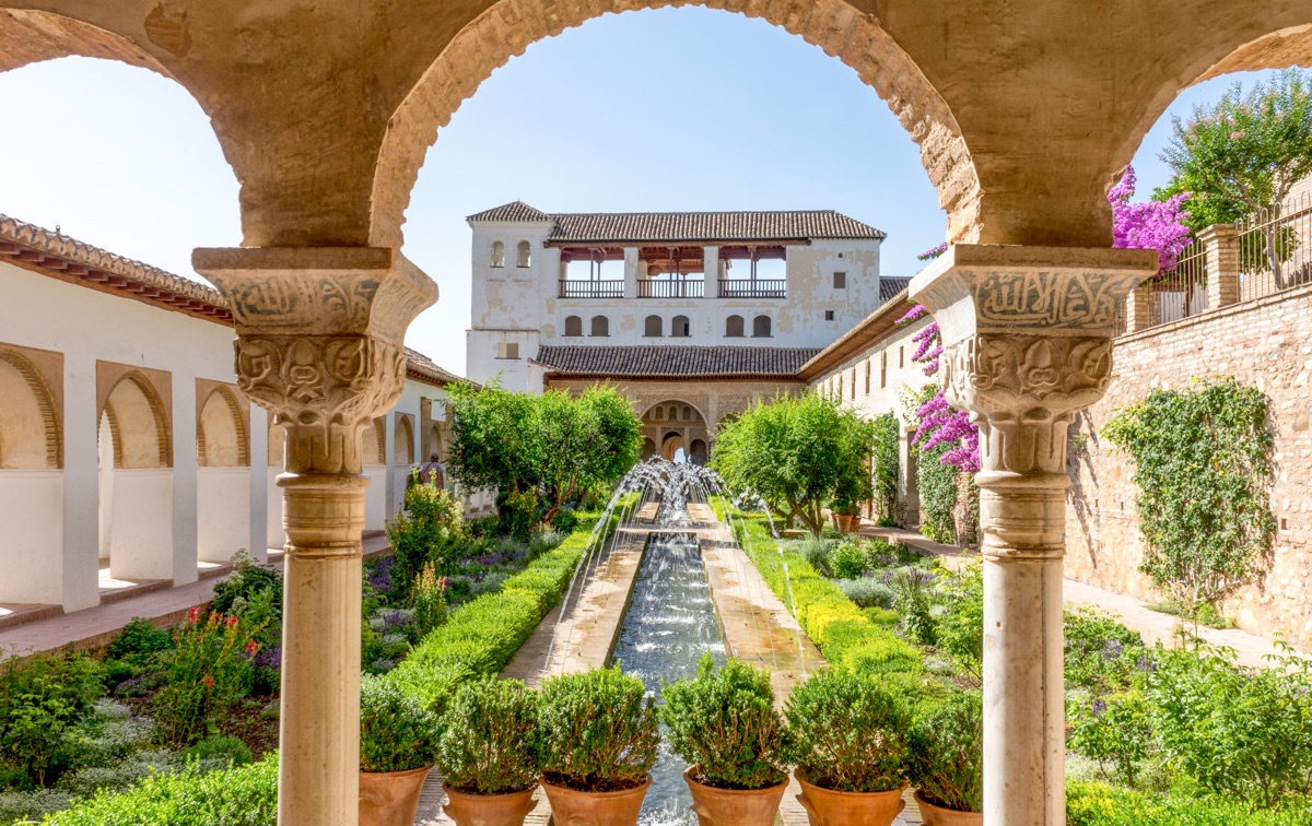 Visite de l'Alhambra à Grenade