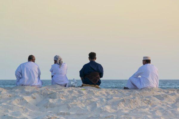 Coucher de soleil à Salalah