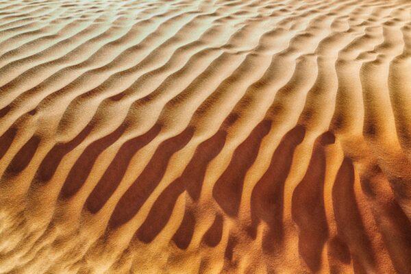 Désert dans le Dhofar à Oman