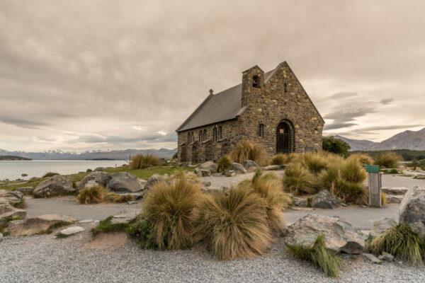 Eglise de Tekapo en Nouvelle-Zélande