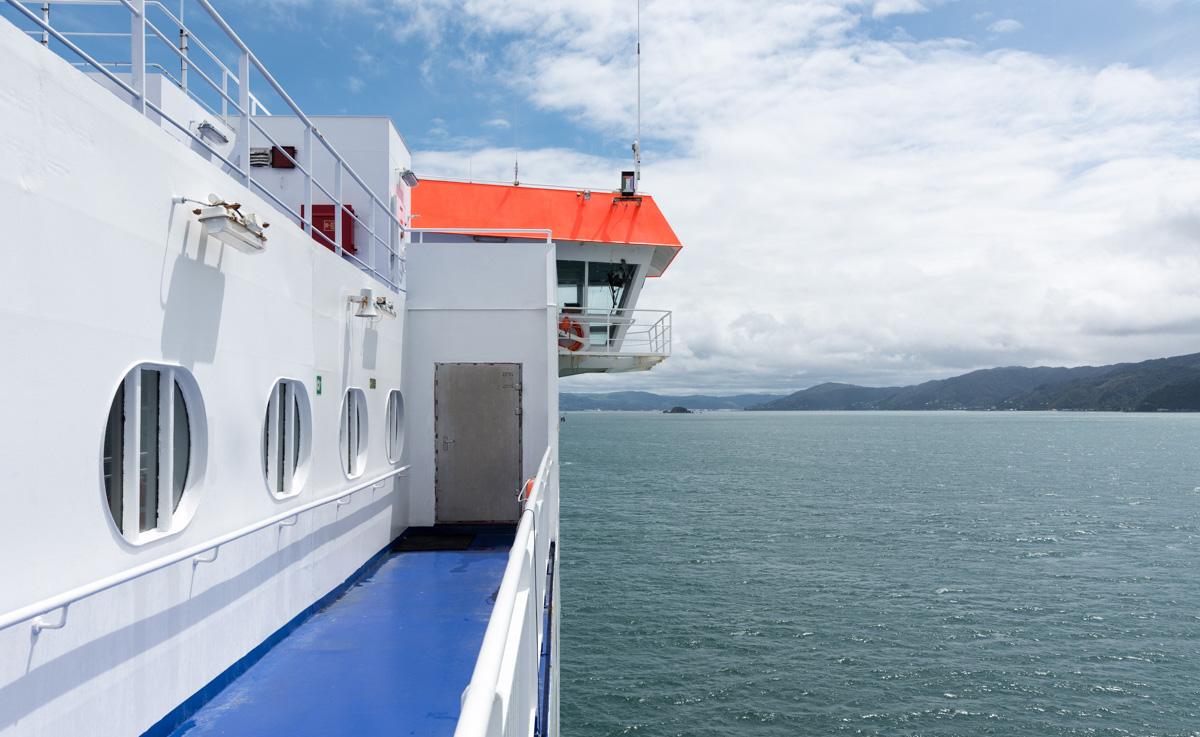 Ferry en Nouvelle-Zélande