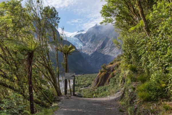 Franz Josef Glacier en Nouvelle-Zélande