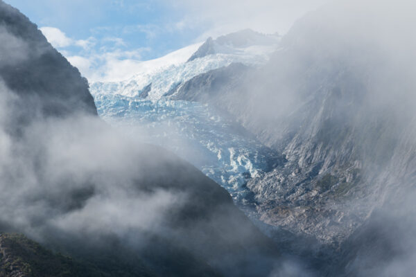 Glacier en Nouvelle-Zélande