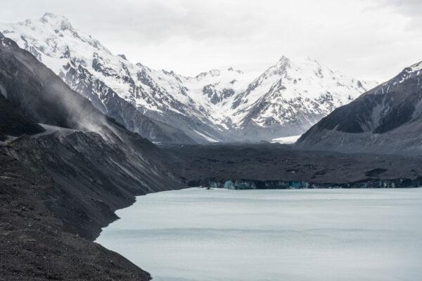 Glacier Tasman en Nouvelle-Zélande