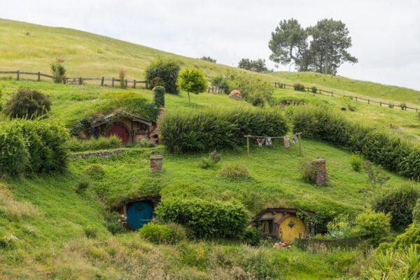 Hobbiton, le village des hobbits