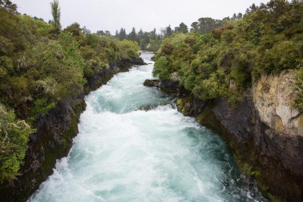 Huka Falls en Nouvelle Zélande