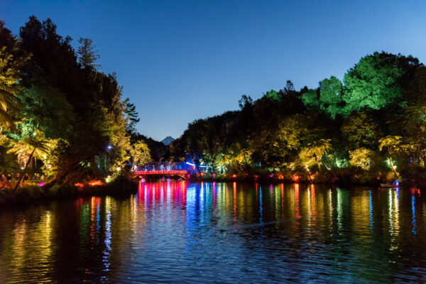 Festival of Lights à New Plymouth