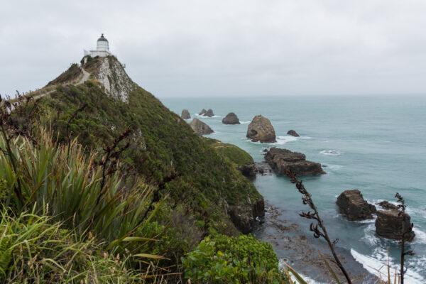 Nugget Point au sud de la Nouvelle-Zélande