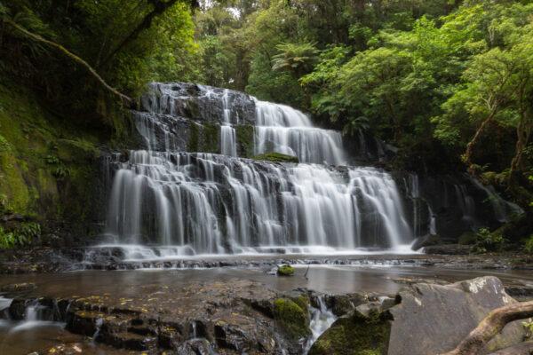 Purakaunui Falls en Nouvelle Zélande