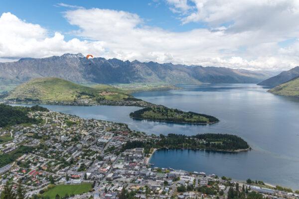Queenstown en Nouvelle-Zélande