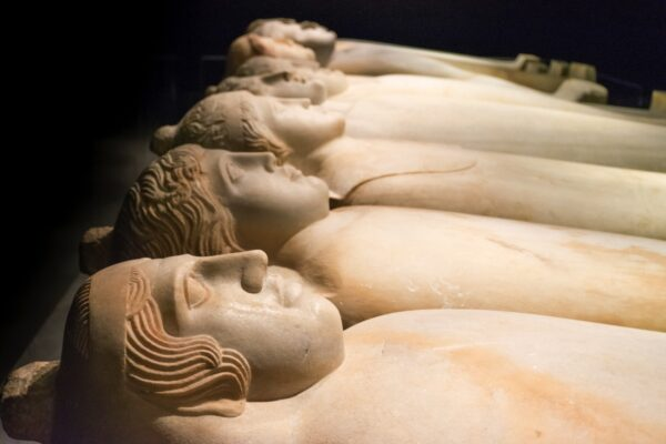 Sarcophages phéniciens à Beyrouth