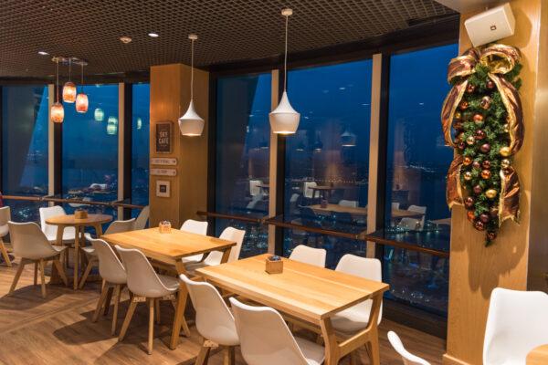 Sky Café d'Auckland