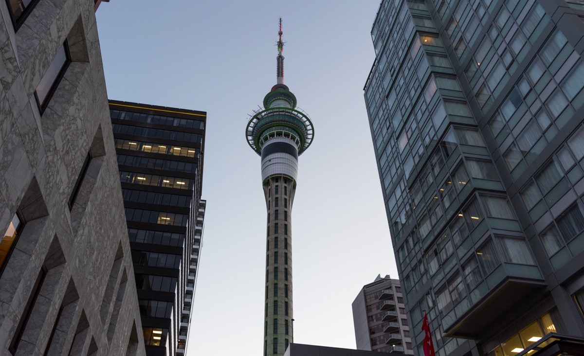 Sky Tower à Auckland