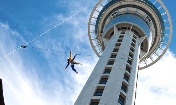 Sky Jump à Auckland