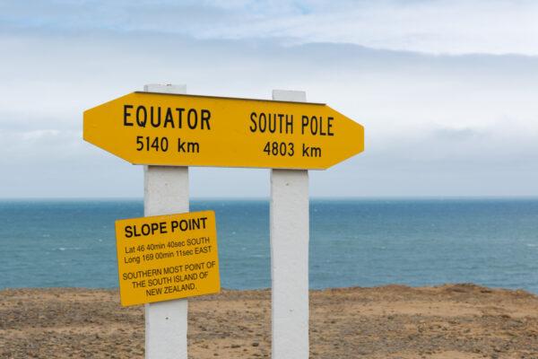 Slope Point en Nouvelle Zélande