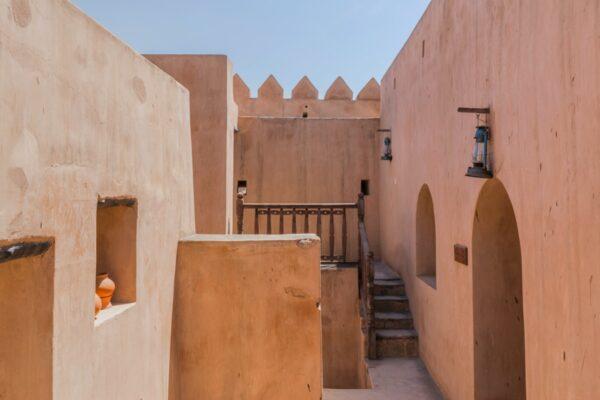 Taqah Castle dans le Dhofar à Oman