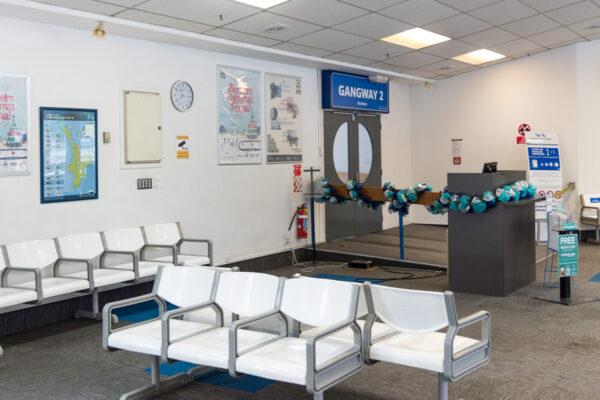 Terminal Interislander à Picton en Nouvelle-Zélande
