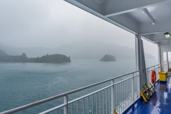 Traversée en ferry de Picton à Wellington