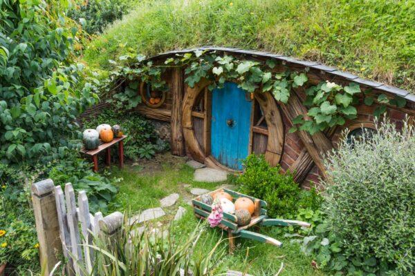 Village de hobbits en Nouvelle Zélande