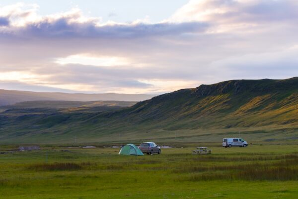 Voyage en Islande en van