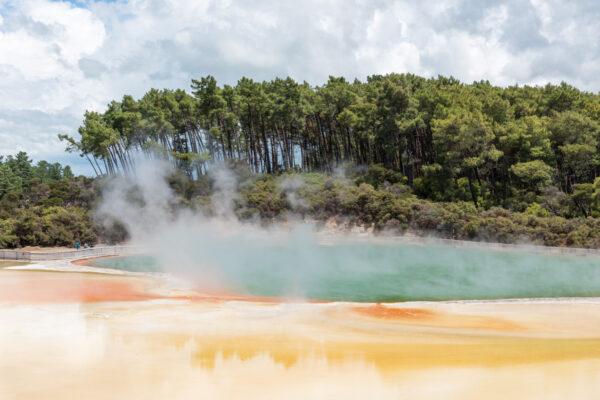 Wai O Tapu, zone géothermique de Nouvelle-Zélande